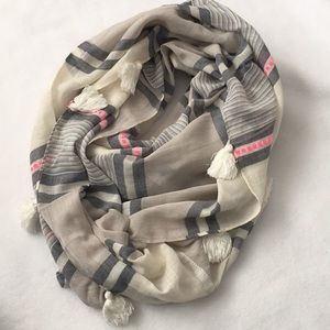Stella and Dot Infinity Scarf with Tassels